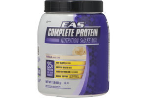 EAS Complete Protein Nutrition Shake Mix Vanilla