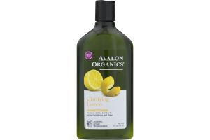 Avalon Organics Conditioner Clarifying Lemon