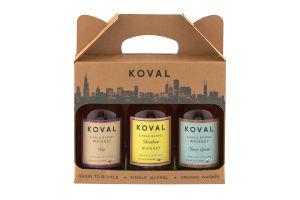 Koval Whiskey Variety Pack - 3 CT