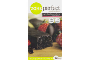 ZonePerfect Nutrition Bars Dark Chocolate Strawberry - 12 CT
