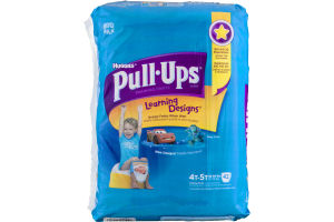 Huggies Pull-Ups Learning Designs Training Pants Size 4T - 5T - 42 CT