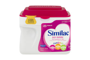 Similac Infant Formula with Iron Soy Isomil