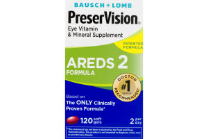 PreserVision Eye Vitamin & Mineral Supplement AREDS 2 Formula - 120 CT
