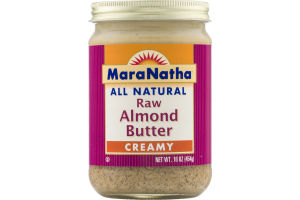 MaraNatha All Natural Raw Almond Butter Creamy