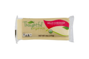 Thoughtful Organics Cheese Mild Cheddar