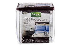Depend Bed Protectors - 8 CT