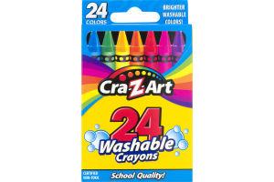 Cra-Z-Art Washable Crayons - 24 CT