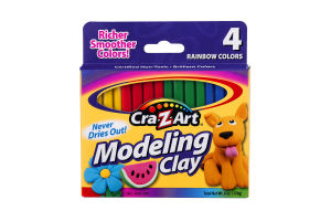 Cra-Z-Art Modeling Clay Rainbow Colors - 4 CT