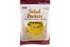 Kangaroo Salad Pockets Whole Wheat - 6 CT