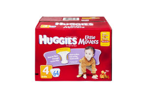 Huggies Supreme Little Movers Size 4 Disney Baby Diapers - 64 CT