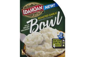 Idahoan Roasted Garlic Mashed Potato Bowl
