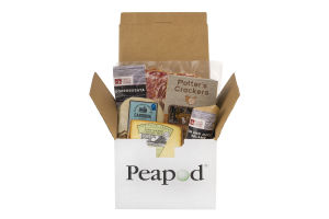 Peapod Classic Cheese & Charcuterie Box