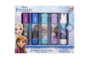 Disney Frozen Jumbo Chalk Set - 5 PK