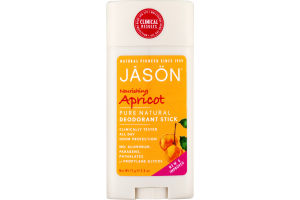 Jason Apricot Pure Natural Deodorant Stick