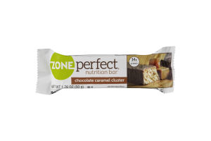 ZonePerfect Nutrition Bar Chocolate Caramel Cluster