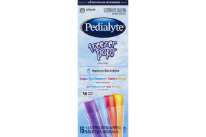 Pedialyte Freezer Pops Electrolyte Solution Variety Pack - 16 CT
