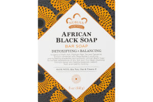 Nubian African Black Soap Bar Soap