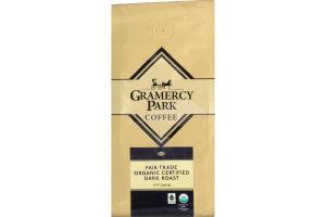 Gramercy Park Coffee Fair Trade Organic Certified Dark Roast Whole Bean