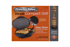 Proctor Silex Durable Compact Grill