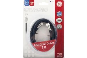 GE RG6 Coax - 3 FT