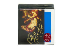 Paper Images Luxury Greetings Cards With Foil-Lined Envelopes - 40 CT