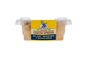 Blue Moose of Boulder Cheese Spread Roasted Red Pepper & Aged Cheddar