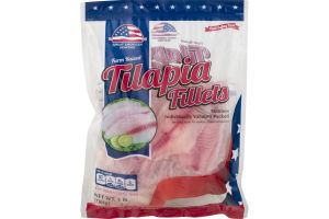 Great American Seafood Farm Raised Tilapia Fillets