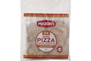 Mazor's Mini Pizza Doughs Whole Wheat - 24 CT