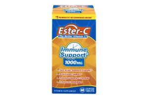 Ester-C Immune Support 1000mg Vitamin Supplement- 60 CT