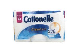 Cottonelle Toilet Paper Clean Care Double Rolls - 12 CT