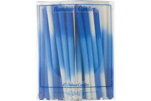 Alef Judaica Hanukah Deluxe Candles - 45 CT