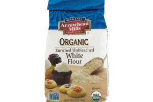 Arrowhead Mills Organic Enriched Unbleached Flour White