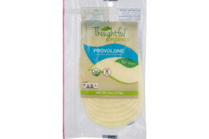 Thoughtful Organics Cheese Slices Provolone - 8 CT