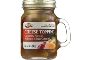 Norpaco Cheese Topping Cranberry, Apricot, Walnut in Ginger Caramel