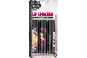Lip Smacker Disney Villains Lip Balm Variety Pack - 3 CT