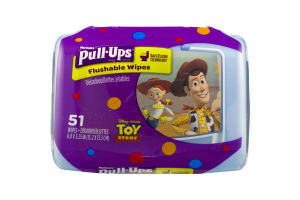 Huggies Pull-Ups Flushable Wipes Disney Pixar Toy Story - 51 CT