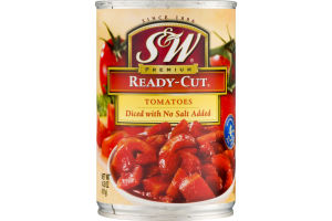 S&W Premium Ready-Cut Tomatoes No Salt Added