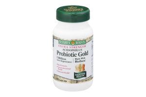 Nature's Bounty Probiotic Gold Acidophilus Dietary Supplement Capsules - 60 CT