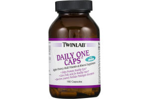 Twinlab Daily One Caps Multi Vitamin & Mineral Supplement Capsules - 180 CT