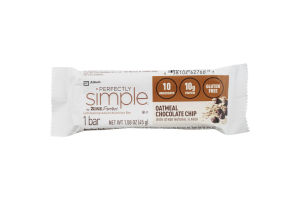 Perfectly Simple Nutrition Bar Oatmeal Chocolate Chip