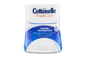 Kleenex Cottonelle FreshCare Flushable Cleansing Cloths - 42 CT