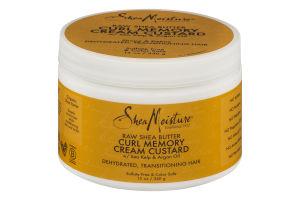 Shea Moisture Curl Memory Cream Custard Raw Shea Butter