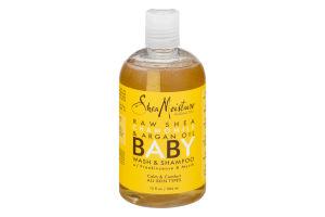 Shea Moisture Raw Shea Chamomile & Argan Oil Baby Wash & Shampoo