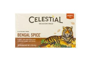 Celestial Seasonings Herbal Tea Caffeine Free Bengal Spice - 20 CT