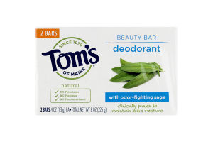 Tom's Of Maine Deodorant with Sage