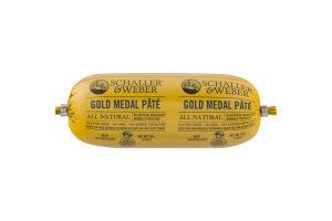 Schaller & Weber Gold Medal Pate