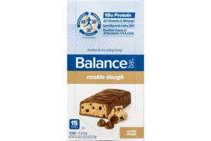 Balance Bar Nutrition Bar Cookie Dough - 15 CT