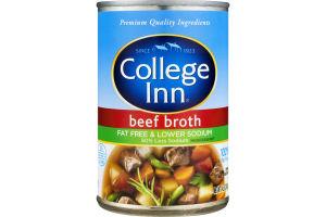 College Inn Fat Free & Lower Sodium Broth Beef