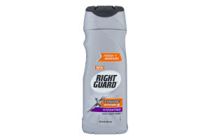 Right Guard Xtreme Defense 5 Hydrating Hair & Body Wash