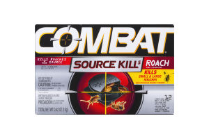 Combat Source Kill 5 Roach Bait Stations - 12 CT